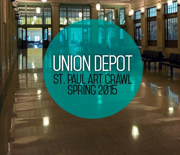 union depot spring art crawl 2015